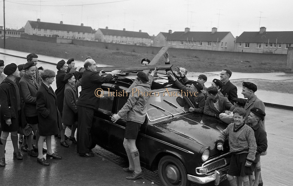 Boy Scouts Perform Passion Pageant, Galway.<br /> 15.04.1963