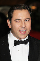 LONDON - OCTOBER 21: David Walliams attended the European Film Premiere of 'Great Expectations' at the Odeon Leicester Square, London, UK. October 21, 2012. (Photo by Richard Goldschmidt)