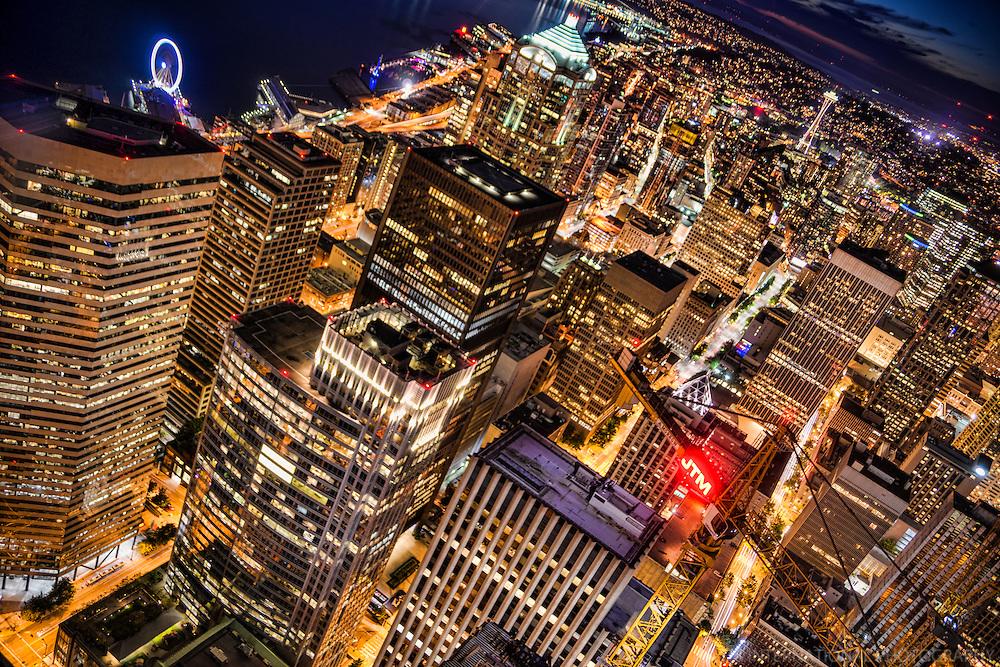 Seattle Metropolis @ Night