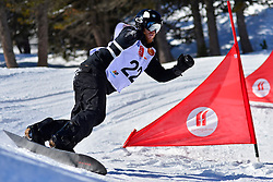 World Cup Banked Slalom, SIDES James, USA at the 2016 IPC Snowboard Europa Cup Finals and World Cup