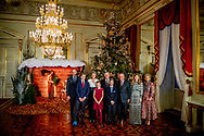19-12-2018 BRUSSELS - King Albert , Queen Mathilde and King Filip and Crown Princess Elisabeth and Prince Gabriel and Prince Emmanuel and Princess Eleonore and Princess Claire and Prince Aymeric and Prince Nicolas and Princess Astrid and Prince Lorenz and Princess Laetitia Maria during the traditional Christmas concert at the Royal Palace in Brussels. Philippe King Philip and Queen Mathilde with their children Princess Elisabeth , Prince Gabriel , Prince Emmanuel and Princess Éléonore offer the traditional Christmas concert in the Royal of Palace of Brussels. The King and Queen wishes in particular to thank the people who have contributed to the smooth running of the Royal activities in 2018 On the program is the Messiah by GF Haendel. The concert will be accompanied by the Concert d'Anvers and the Flemish Radio Choir led by Bart van Reyn along with soloists from the Queen Elisabeth Music Chapel. COPYRIGHT ROBIN UTRECHT<br /> <br /> 19 -12-2018 BRUSSEL - koning Albert , Koningin Mathilde en Koning Filip en Kroon Prinses Elisabeth en Prins Gabriel en Prins Emmanuel en Prinses Eleonore en Prinses Claire en Prins Aymeric en Prins Nicolas en Prinses Astrid en Prins Lorenz en Prinses Laetitia Maria tijdens het traditionele kerstconcert op het Koninklijk Paleis in Brussel. Philippe King Philip en Koningin Mathilde met hun kinderen Princess Elisabeth, Prins Gabriel, Prins Emmanuel en Prinses Éléonore bieden het traditionele kerstconcert in het Koninklijk Paleis van Brussel. De Koning en de Koningin wensen in het bijzonder de mensen te bedanken die hebben bijgedragen aan de goede werking van de Koninklijke activiteiten in 2018 Op het programma staat de Messias van GF Haendel. Het concert wordt begeleid door het Concert d'Anvers en het Vlaams Radio Koor onder leiding van Bart van Reyn, samen met solisten van de Muziekkapel Koningin Elisabeth. COPYRIGHT ROBIN UTRECHT