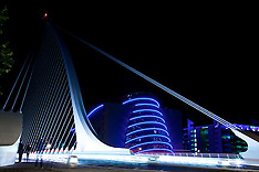 Samuel Beckett Bridge, exterior Architecture Photographer in Dublin, Ireland.