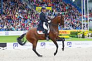 Patrick van der Meer - Uzzo<br /> FEI European Championships Aachen 2015<br /> &copy; DigiShots
