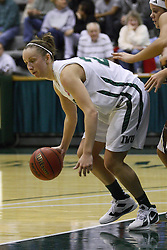 17 December 2011:  Olivia Lett during an NCAA womens division 3 basketball game between the St. Francis Fighting Saints and the Illinois Wesleyan Titans in Shirk Center, Bloomington IL