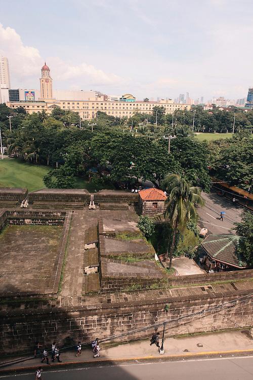 View from Bayleaf Intramuros hotel, Manila