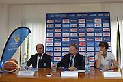 DESCRIZIONE : Rona 05 Ottobre 2015B<br /> GIOCATORE : Capobianco Andrea Gianni Petrucci Raffaella Masciadri<br /> CATEGORIA : Conferenza<br /> SQUADRA : <br /> EVENTO : Presentazione Coach Andrea Capobianco<br /> GARA :<br /> DATA : 05 Ottobre 2015<br /> SPORT : Pallacanestro<br /> AUTORE : Agenzia Ciamillo-Castoria/A.Fraioli<br /> Galleria : FIP<br /> Fotonotizia : Presentazione Coach Andra Capobianco<br /> Predefinita :