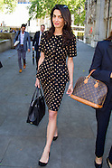 Amal Clooney, Supreme Court, London