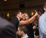 Greg Stewart poses for a selfie with fans - DSA Dundee FC player of the year dinner<br /> <br />  - &copy; David Young - www.davidyoungphoto.co.uk - email: davidyoungphoto@gmail.com
