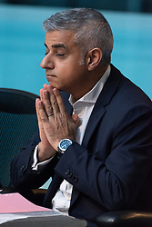 © Licensed to London News Pictures. 21/12/2018. London, UK. London Mayor Sadiq Khan appears before the London Assembly to answer questions when he knew of Crossrail launch delay. Photo credit: Ray Tang/LNP