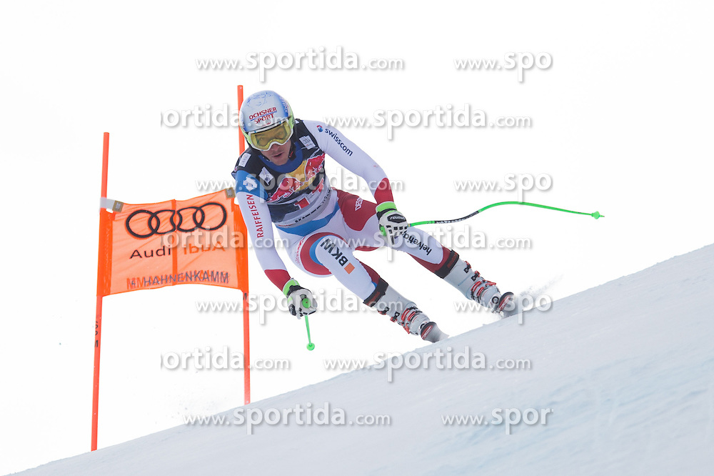 19.01.2016, Streif, Kitzbuehel, AUT, FIS Weltcup Ski Alpin, Kitzbuehel, 1. Abfahrtstraining, Herren, im Bild Carlo Janka (SUI) // Carlo Janka of Switzerland in action during 1st Training of the men's Downhill Race of Kitzbuehel FIS Ski Alpine World Cup at the Streif in Kitzbuehel, Austria on 2016/01/19. EXPA Pictures © 2016, PhotoCredit: EXPA/ Johann Groder