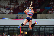 Michaela Meijer (SWE) in the Women Pole Vault during the Muller Anniversary Games at the London Stadium, London, England on 9 July 2017. Photo by Jon Bromley.
