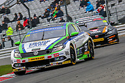 Jake Hill - Trade Price Cars with Team HARD Racing - Volkswagen CC during the Dunlop MSA British Touring Car Championship at Brands Hatch, Fawkham, United Kingdom on 8 April 2018. Picture by Aaron  Lupton.