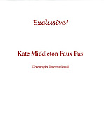 Exclusive! Kate Middleton Faux Pas