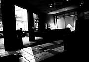 waiting room, INOVA, Fairfax, Virginia