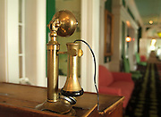 Old phone in Grand Hotel  Mackinac Island  Michigan  Not Released