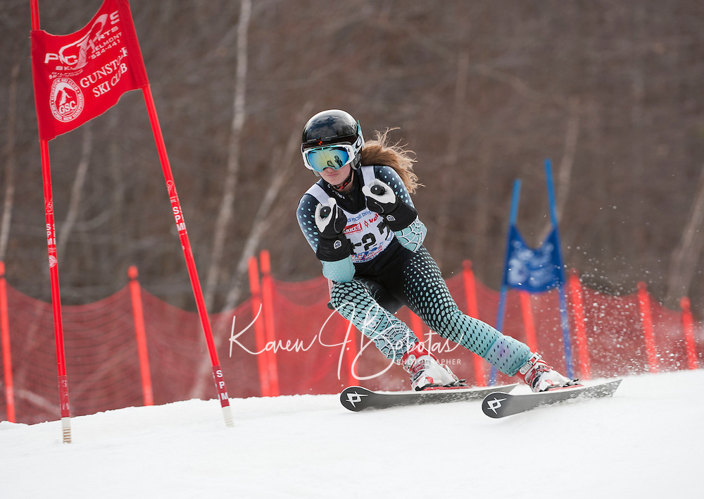 Francis Piche Invitational giant slalom 2nd run J3 at Gunstock March 17, 2012.