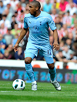 Britannia Stadium Stoke City v Tottenham Hotspur Premier League 21/08/2010<br /> Wilson Palacios (Spurs)<br /> Photo Roger Parker Fotosports International