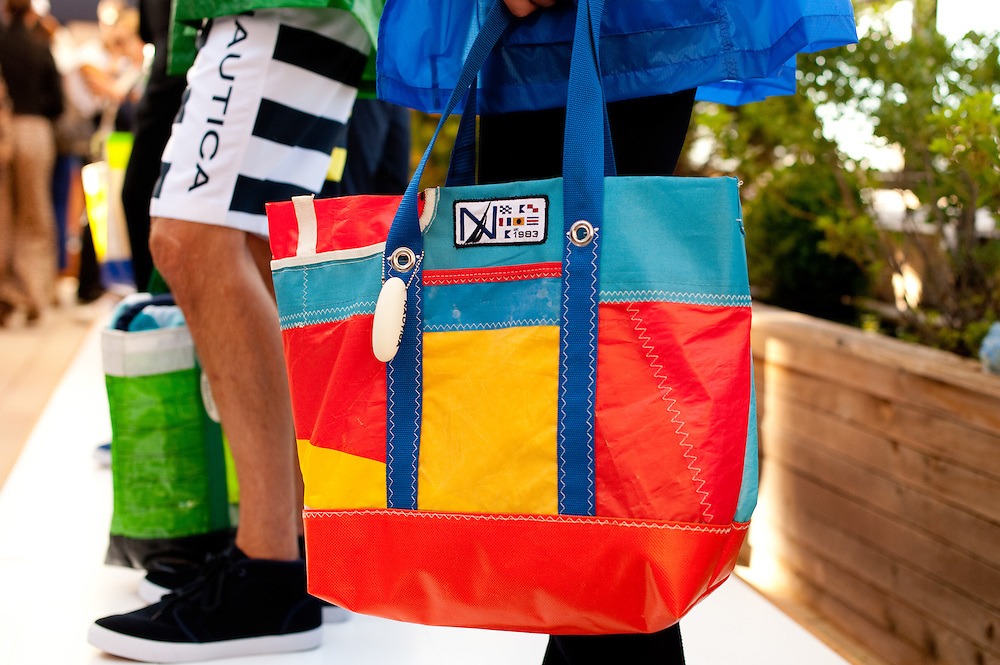 Recycled Sail Bags, Nautica Spring 2011