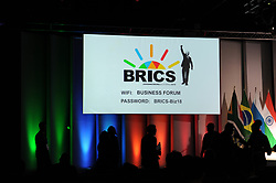 25-07-18 Sandton, Johannesburg. 10th BRICS Summit held at the Sandton Convention Centre.  Delegates in the front area of the hall before the session go under way. Picture: Karen Sandison/African News Agency (ANA)