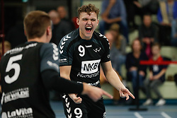 20181124 NED: Volleyball Top League ZVH - VCV: Zevenhuizen<br />Max Witziers (9) of MKB Accountants VCV <br />©2018-FotoHoogendoorn.nl / Pim Waslander
