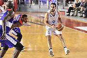 DESCRIZIONE : Campionato 2014/15 Virtus Acea Roma - Enel Brindisi<br /> GIOCATORE : Rok Stipcevic<br /> CATEGORIA : Tiro Sequenza<br /> SQUADRA : Virtus Acea Roma<br /> EVENTO : LegaBasket Serie A Beko 2014/2015<br /> GARA : Virtus Acea Roma - Enel Brindisi<br /> DATA : 19/04/2015<br /> SPORT : Pallacanestro <br /> AUTORE : Agenzia Ciamillo-Castoria/GiulioCiamillo