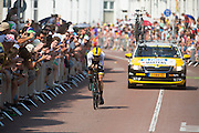 Martens van de Lotto Jumbo ploeg. In Utrecht is deTour de France van start gegaan met een tijdrit. De stad was al vroeg vol met toeschouwers. Het is voor het eerst dat de Tour in Utrecht start.<br /> <br /> In Utrecht the Tour de France has started with a time trial. Early in the morning the city was crowded with spectators. It is the first time the Tour starts in Utrecht.