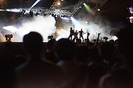 Concert during the Monsoon Music Festival in Hanoi, Vietnam, Southeast Asia