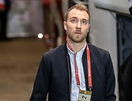 Christian Eriksen (Danmark) ankommer til EM Kvalifikationskampen mellem Danmark og Gibraltar den 15. november 2019 i Telia Parken (Foto: Claus Birch).