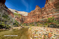Angel shape in the clouds overlooking Virgin River in Zion.....watching over all this beauty