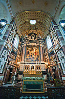 Altar in St. James Church in Antwerp, Belgium