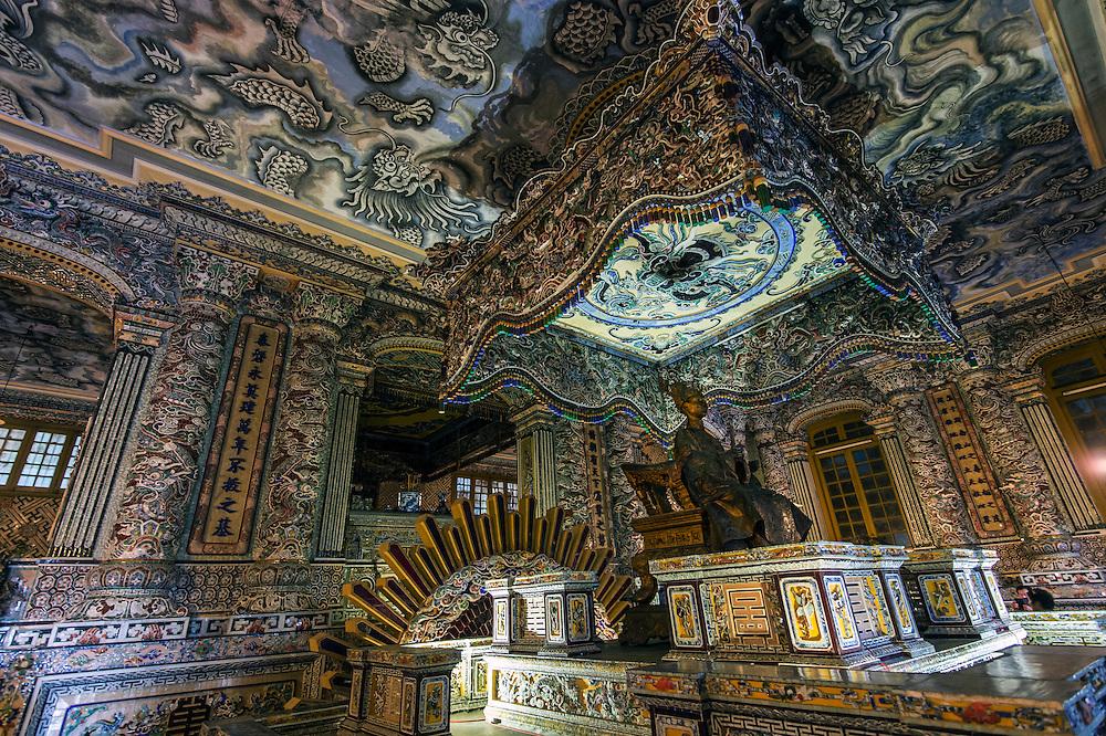 Khai Dinh Mausoleum, Hue