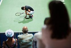 Andrea Arnaboldi (ITA) in action during Final Singles match at Day 9 of ATP Challenger Zavarovalnica Sava Slovenia Open 2018, on August 11, 2018 in Sports centre, Portoroz/Portorose, Slovenia. Photo by Vid Ponikvar / Sportida