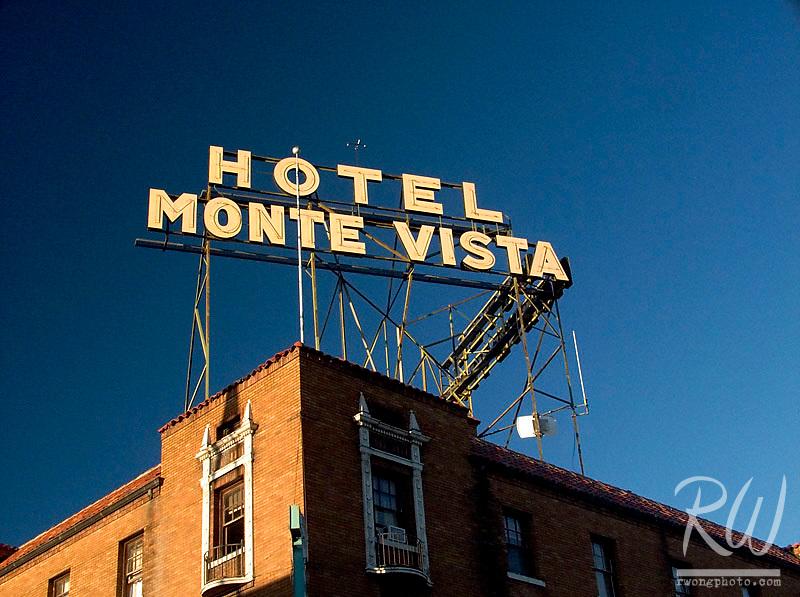 Hotel Monte Vista, Downtown Flagstaff, Arizona