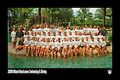 UM Swimming & Diving Team Photos