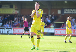 Billy Bodin of Bristol Rovers looks dejected after missing a chance. - Mandatory by-line: Alex James/JMP - 08/04/2017 - FOOTBALL - Cherry Red Records Stadium - Kingston upon Thames, England - AFC Wimbledon v Bristol Rovers - Sky Bet League One