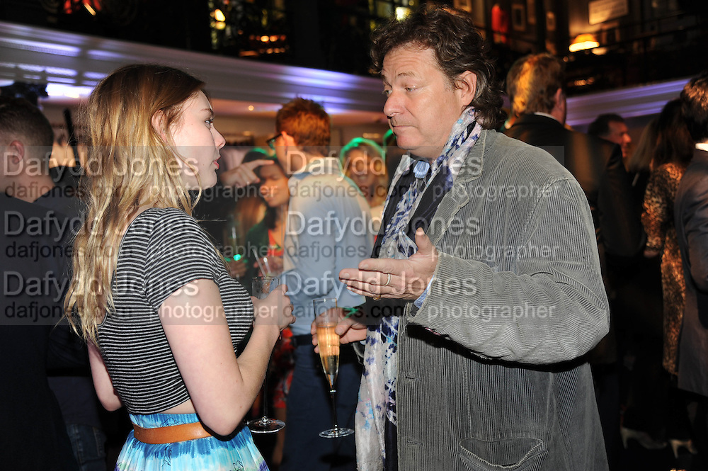 NELL HUDSON; DANNY MOYNIHAN, The Gentlemen's Journal Autumn Party, in partnership with Gieves and Hawkes- No. 1 Savile Row London. 3 October 2013