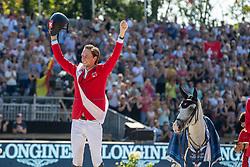 Fuchs Martin, SUI, Clooney 51<br /> European Championship Jumping<br /> Rotterdam 2019<br /> © Hippo Foto - Dirk Caremans