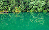 Gorge Lake in the North Cascade mountains of Washington State.  Near Highway 20.