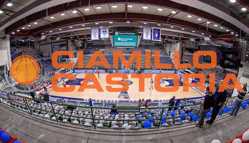 PalaSerradimigni<br /> Dinamo Banco di Sardegna Sassari - Openjobmetis Pallacanestro Varese<br /> Lega Basket Seire A 2016/2017<br /> Sassari 03/10/2016<br /> Foto Ciamillo-Castoria