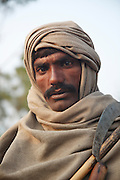 A portrait of Mirchand Bheel, age 36, enslaved for 2 years for apparently owing US$1500. <br /> <br /> Following the release of the Global Slavery Index by the Walk Free Foundation Pakistan is ranked 3rd worse in the world behind India and China. The Asian Development Bank estimates some 1.8 million people are slaves in Pakistan yet other estimates reach up to 4 million people, most of which toil year after year in brick kilns or sugar cane plantations. Their stories are the same; they have no-where to turn so they borrow money from a land-owner for a medical emergency or marriage dowry. The landlords pay in return for work, their labour supposed to be taken off the amount borrowed. Yet after years of no salary incredibly their amount owed is often quadrupled, the excuse being the amount they cost to feed! Many are chained, abused, raped and even killed.<br /> <br /> For years they had no where to run, no one to help but now a small local NGO called the Green Development Rural Organisation (GDRO) works to free bonded-slaves by using the law against their captives. Yet, often freed slaves end up right back where they were or risk being hunted by the landowner and forced to return. So GRDO started building villages so slaves who escape or are freed have somewhere safe to go. It now has two, whose names translate from Urdu as 'Village of the Freed' and 'Village of the Courageous', and is working on a 3rd. The land is bought and allocated to freed slave families where they can built a house and start again. Without such help the vicious cycle would continue.