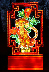 The Magical Lantern Festival held at Chiswick House Gardens, London from 19 January 2017 until 26 February 2017
