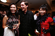 """China Club. Chinese and Western upper class youngsters celebrate """"100 Days to Handover"""" party."""