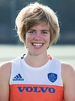 UTRECHT - Imme van der Hoek. Jong Oranje dames voor EK 2017 in Valencia. COPYRIGHT KOEN SUYK