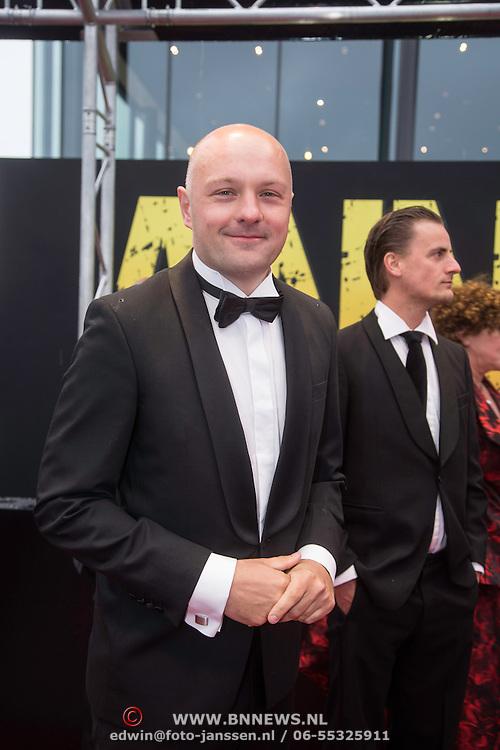 NLD/Amsterdam/20140508 - Wereldpremiere Musical Anne, Boris van der Ham