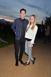 DIANA VICKERS and GEORGE CRAIG at the Battersea Power Station Annual Party at Battersea Power Station, 188 Kirtling Street, London SW8 on 30th April 2014.