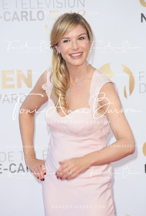 MONTE-CARLO, MONACO - JUNE 11:  Louise Ekland attends the Closing Ceremony and Golden Nymph Awards of the 54th Monte Carlo TV Festival on June 11, 2014 in Monte-Carlo, Monaco.  (Photo by Tony Barson/FilmMagic)