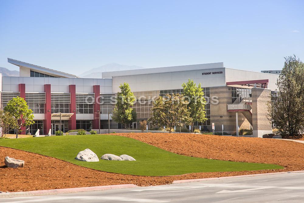 Student Services Building at Citrus Community College