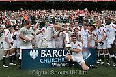 Churchill Cup Final. England Saxons v NZ Maoris. Twickenham 02-06-2007