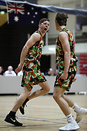 22/04/2017 Round 4:  Norwood Flames vs South Adelaide Panthers Eagles at the ARC. Daniel Webber celebrates the win over South.  Photos By AllStar Photos.