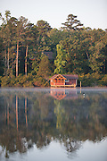 Samford's boat house in the morning